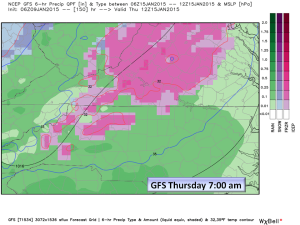 GFS for Thursday Morning