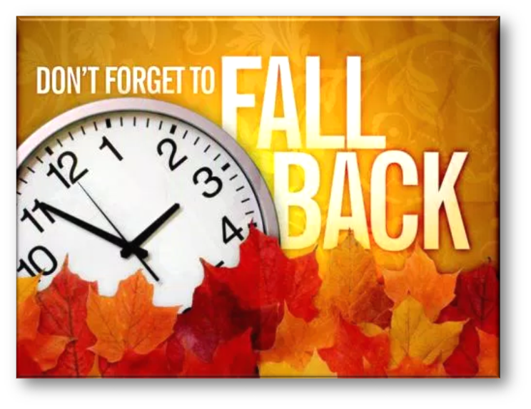 Fall Back and Hour