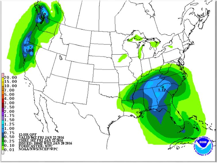 WPC Forecast 1/22
