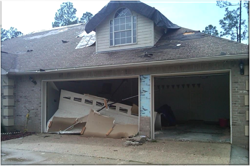 Hurricane awareness week riding out the storm nc for Garage door wind code ratings