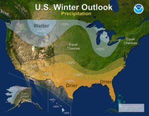 NOAA Precipitation Outlook
